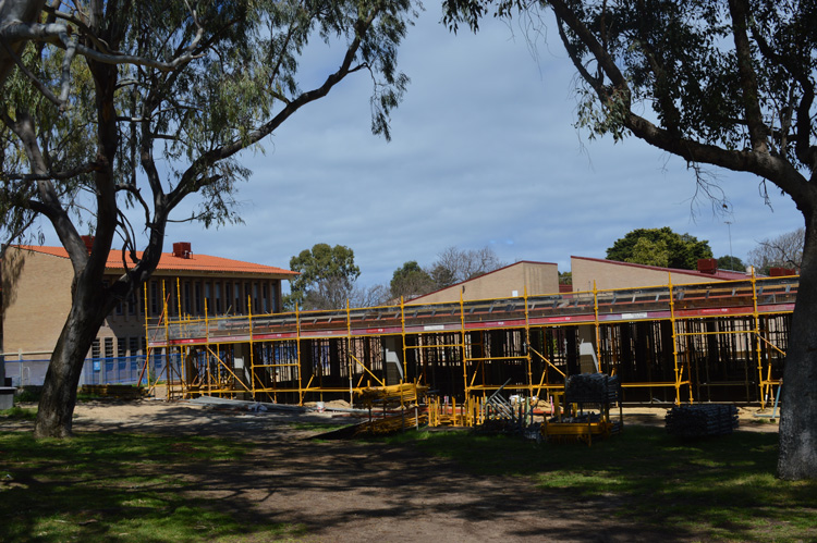 fremantle college building construction