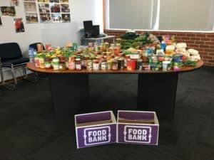 Foodbank Appeal Fremantle College