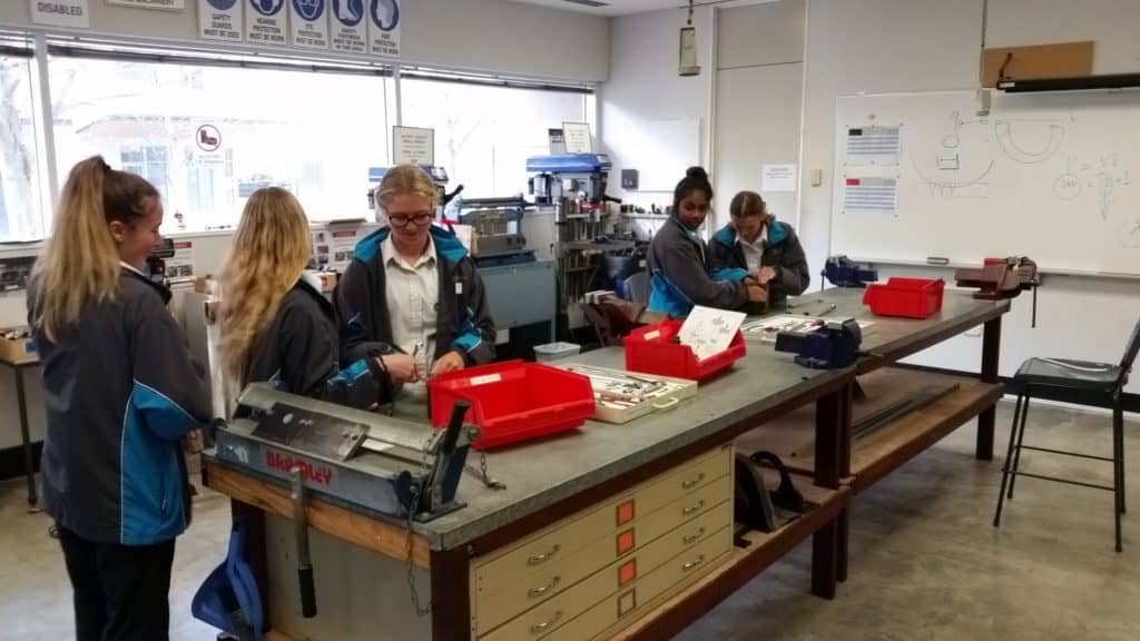 Fremantle College Girls in STEM